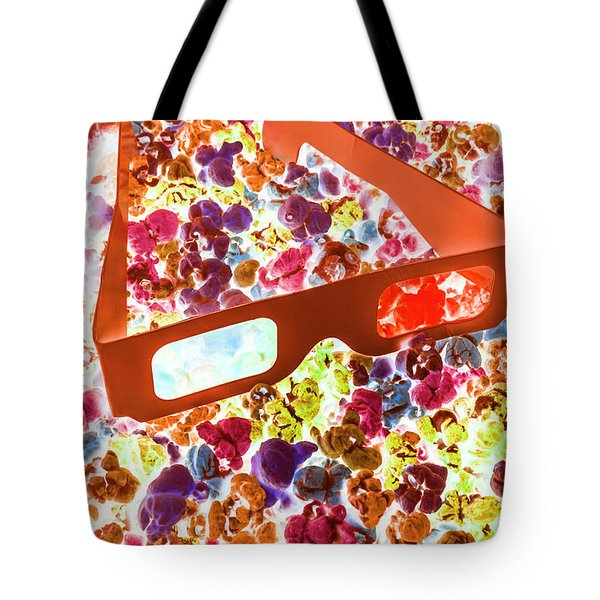 Visual Pop Art Tote Bag