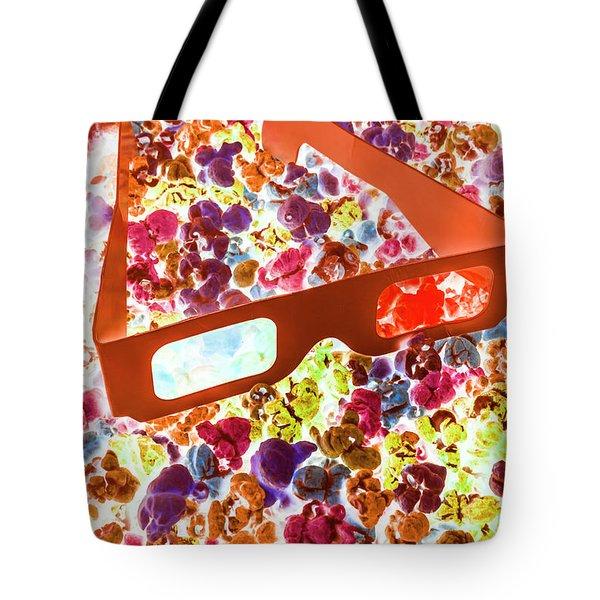 Visual Pop Art Tote Bag