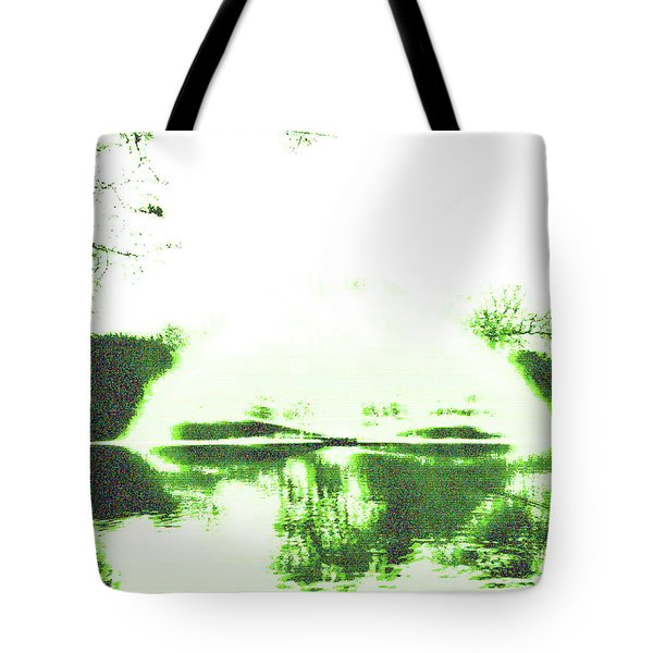 Voices Of A Long Lost Civilization Tote Bag