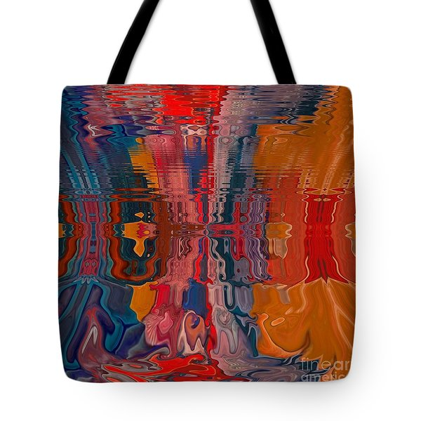Tote Bag featuring the digital art Von Freestyle by A zakaria Mami