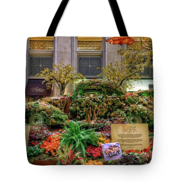 Vw Bug Planter Tote Bag