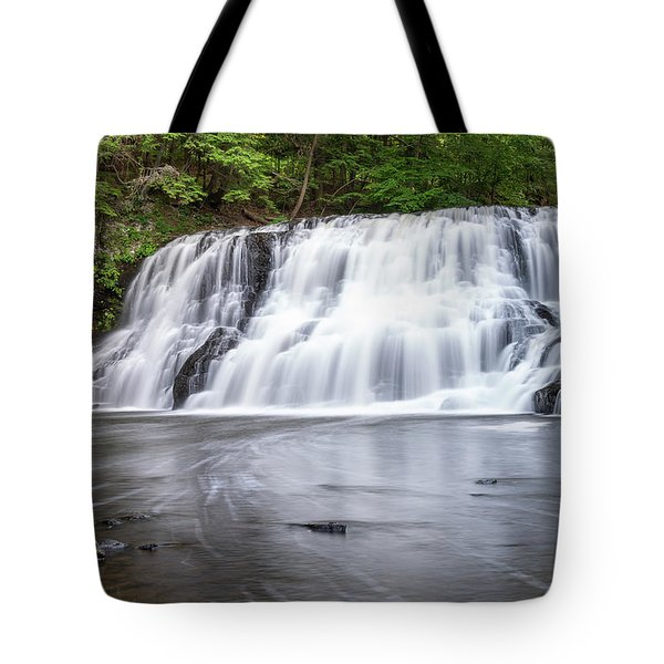 Wadsworth Falls In Middletown, Connecticut U.s.a.  Tote Bag