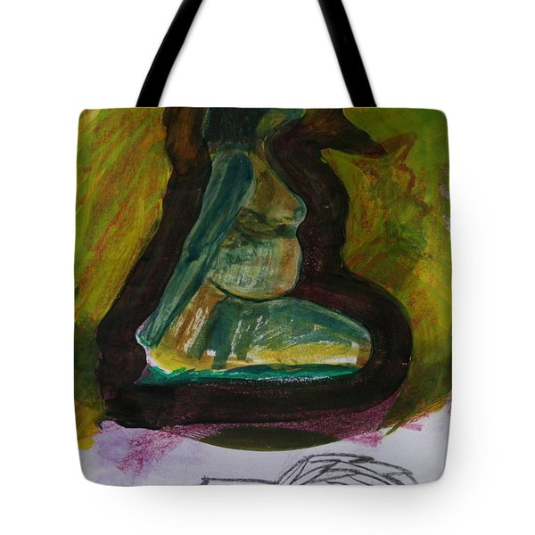 Waiting For Death Tote Bag