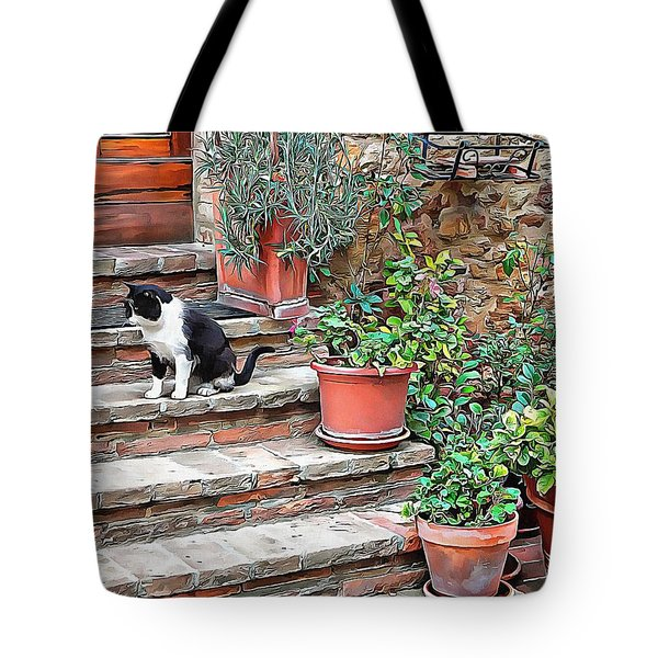 Tote Bag featuring the photograph Waiting For Mom by Dorothy Berry-Lound