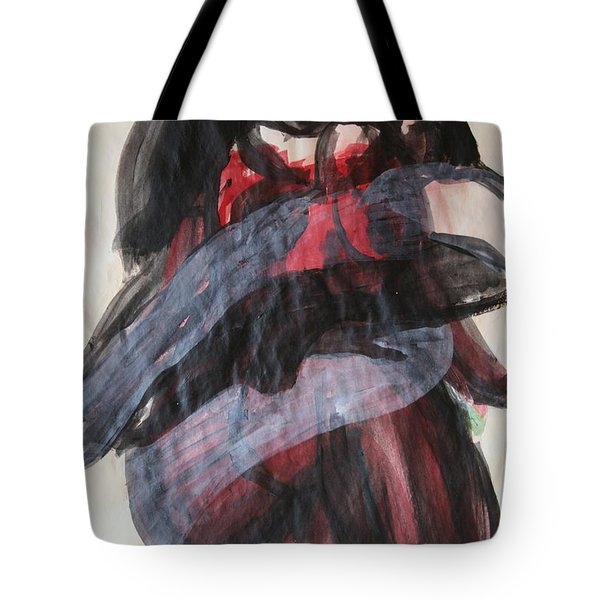 Waiting For The Cross Tote Bag