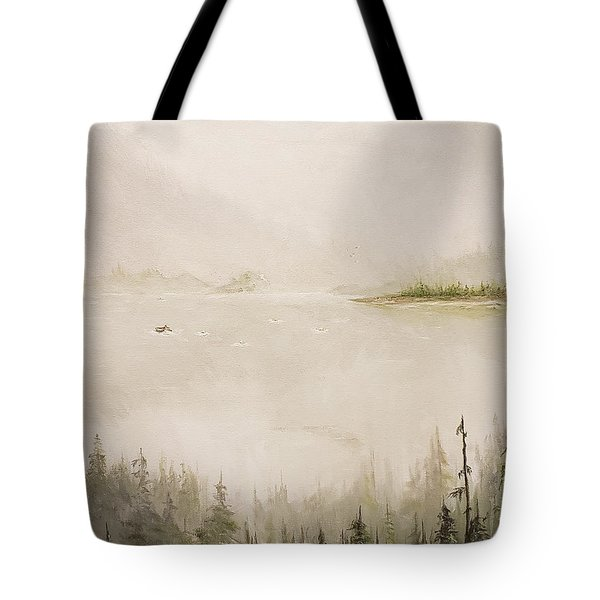 Waiting For The Eagle To Come Tote Bag