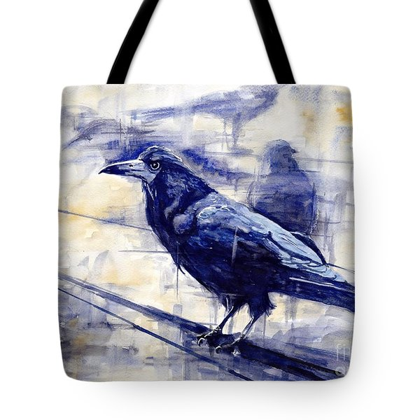 Waiting For The Lonely Train Tote Bag