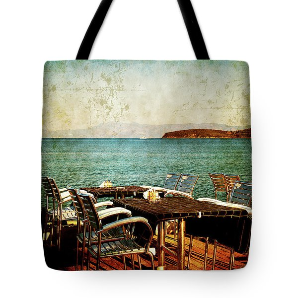Tote Bag featuring the photograph Waiting For The Right People by Milena Ilieva