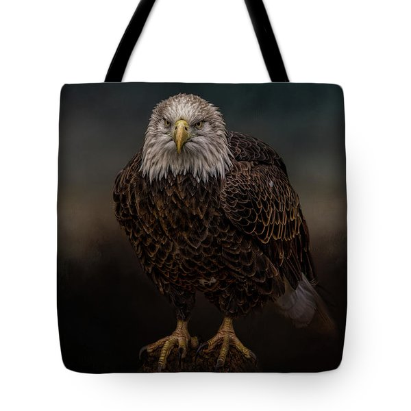 Waiting On The Storm Tote Bag
