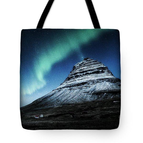 Wake Up The Sky Tote Bag