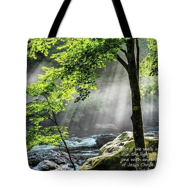 Walk In The Light Tote Bag