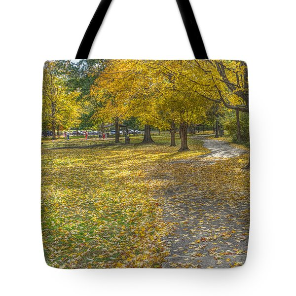 Walk In The Park @ Sharon Woods Tote Bag