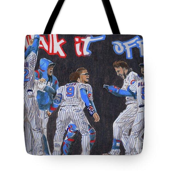 Walk It Off Tote Bag