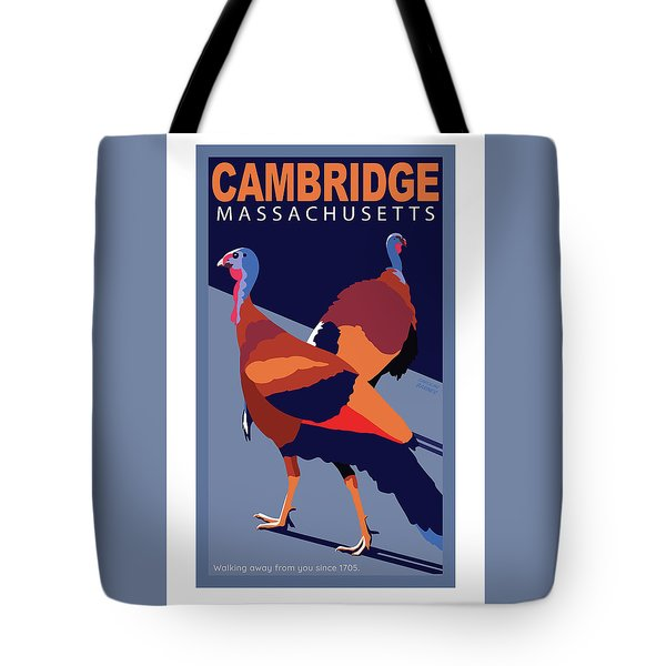 Walking Away From You-cambridge Tote Bag