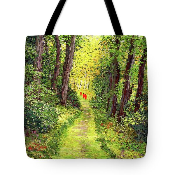 Walking Meditation Tote Bag