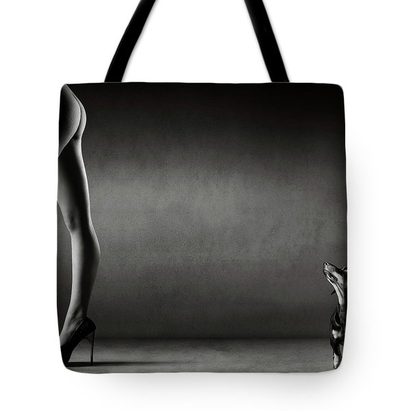Walking The Wild Side Tote Bag
