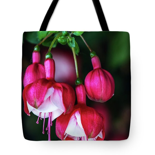 Wallpaper Flower Tote Bag