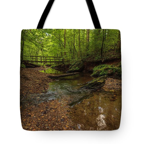 Tote Bag featuring the photograph Walnut Creek by Keith Smith