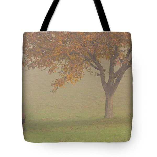 Walnut Farmer, Beynac, France Tote Bag