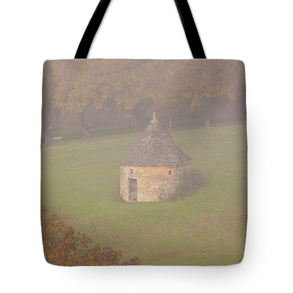 Walnut Farmers, Beynac, France Tote Bag