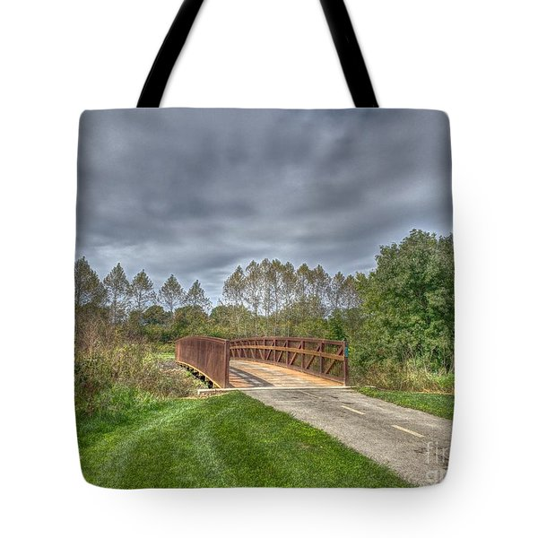Walnut Woods Bridge - 2 Tote Bag