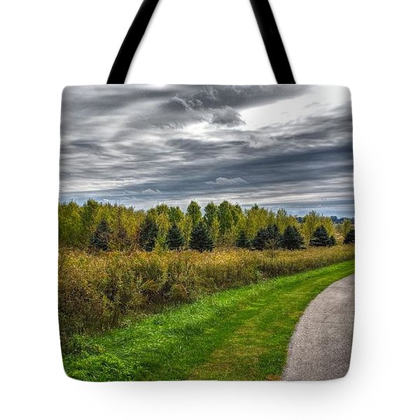 Walnut Woods Pathway - 2 Tote Bag
