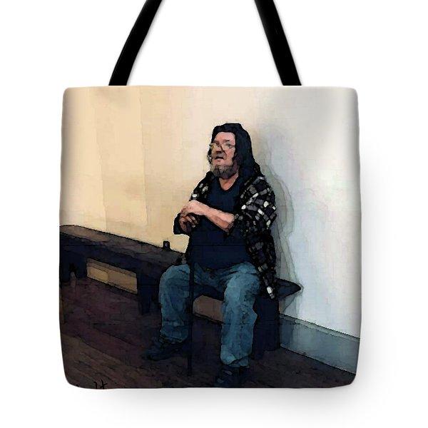 Walt Sitting Tote Bag