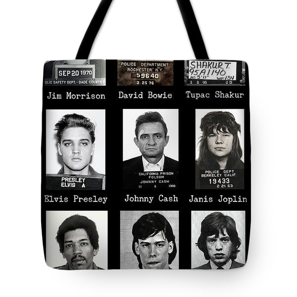 Wanted Rebels Of The Music Industry Tote Bag