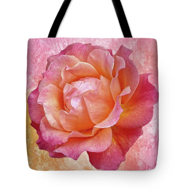 Warm And Crunchy Rose Tote Bag