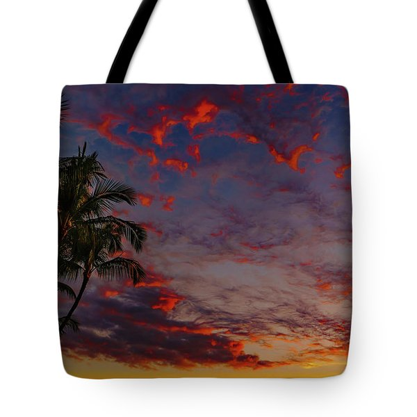 Warm Sky Tote Bag