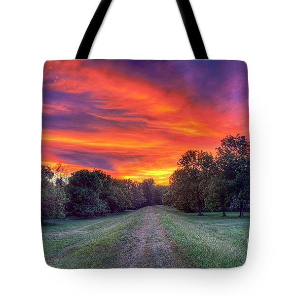 Warm Summer Night Tote Bag