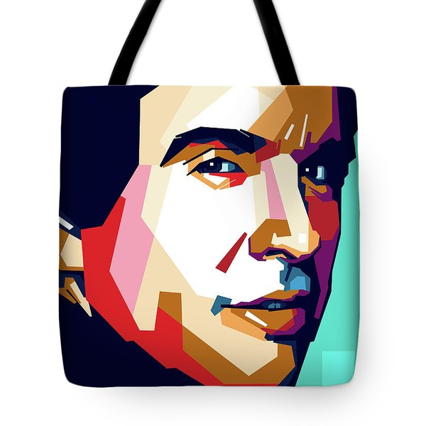 Warren Beatty Tote Bag