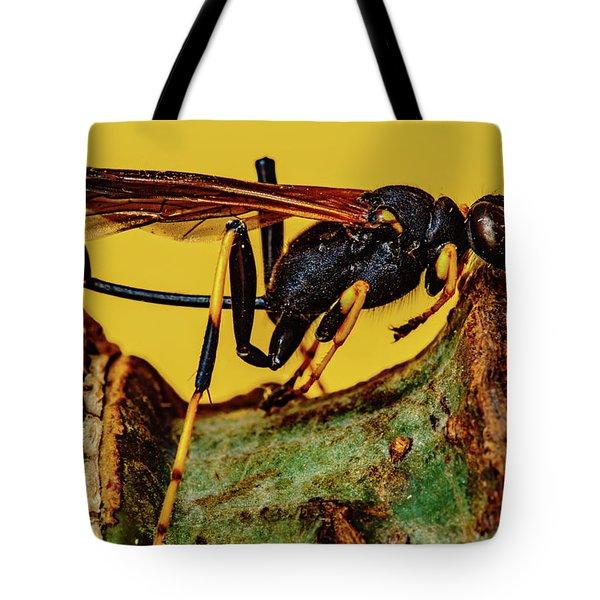 Wasp Just Had Enough Tote Bag
