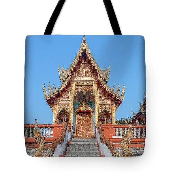 Wat Nong Tong Phra Wihan Dthcm2639 Tote Bag
