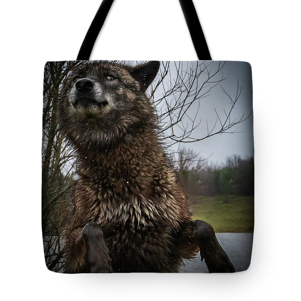 Watch The Eyes Tote Bag