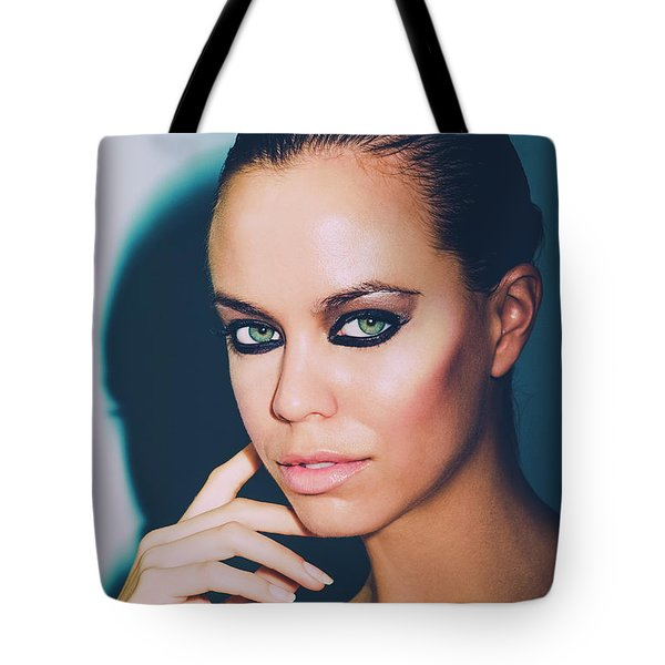 Watching You Watching Me Tote Bag
