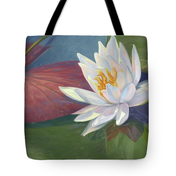 Water Beauty Tote Bag