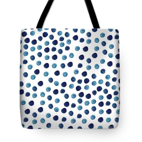 Water Dots, 2016 Watercolor Tote Bag