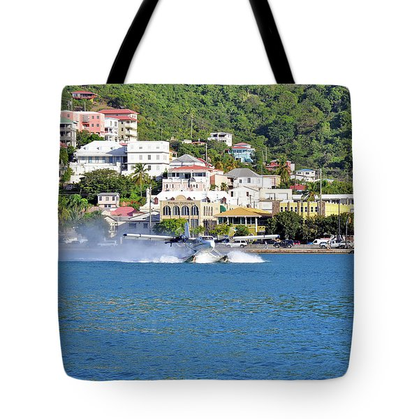 Water Launch Tote Bag