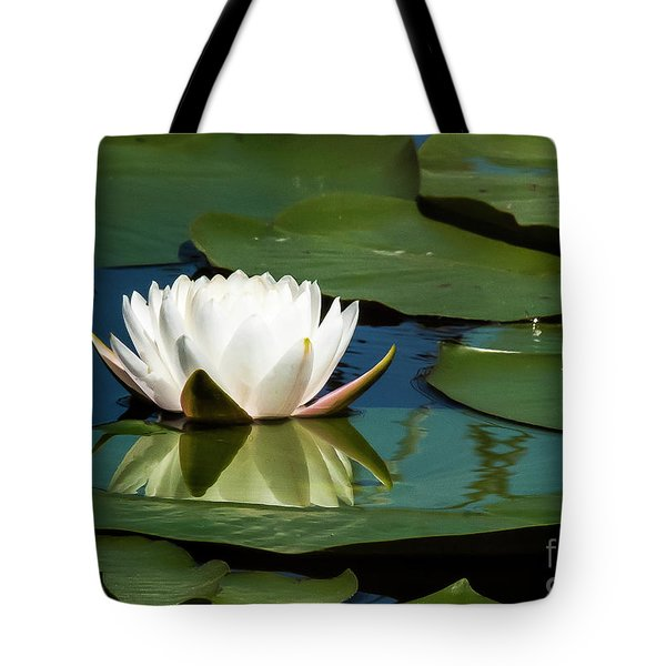 Tote Bag featuring the photograph Water Lilly by Michael D Miller