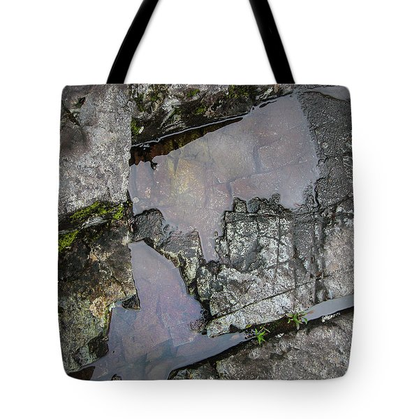 Tote Bag featuring the photograph Water On The Rocks 3 by Juan Contreras