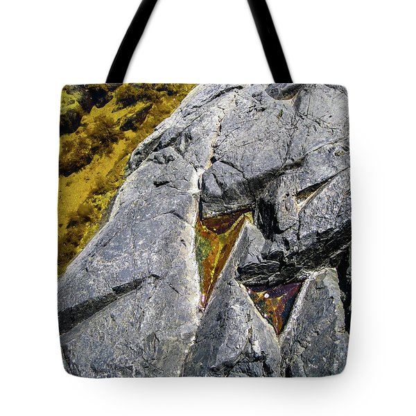 Tote Bag featuring the photograph Water On The Rocks 8 by Juan Contreras