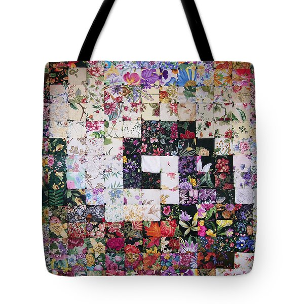 Watercolor Swirl Tote Bag