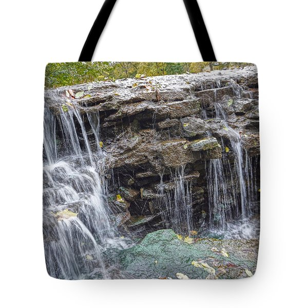 Waterfall @ Sharon Woods Tote Bag