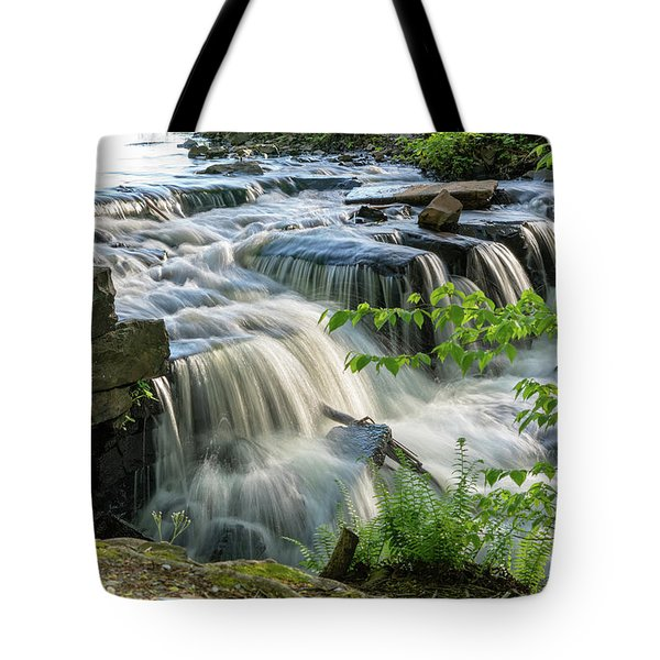 Waterfall At The Old Mill  Tote Bag