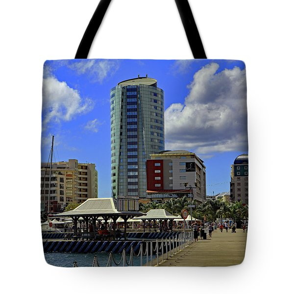 Tote Bag featuring the photograph Waterfront by Tony Murtagh