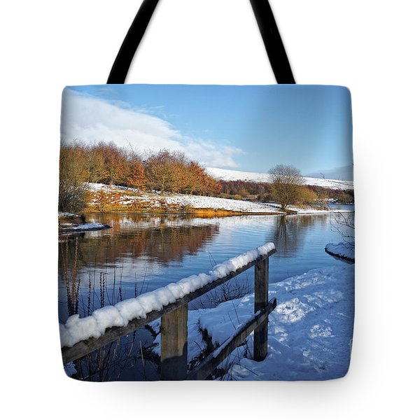 Tote Bag featuring the photograph Watergrove Reservoir by David Birchall