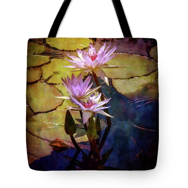 Waterlily Bouquet 2922 Idp_6 Tote Bag
