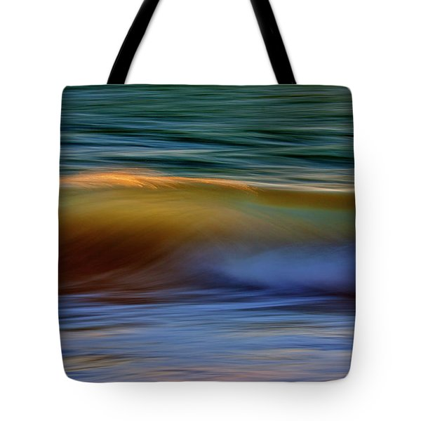 Wave Abstact Tote Bag