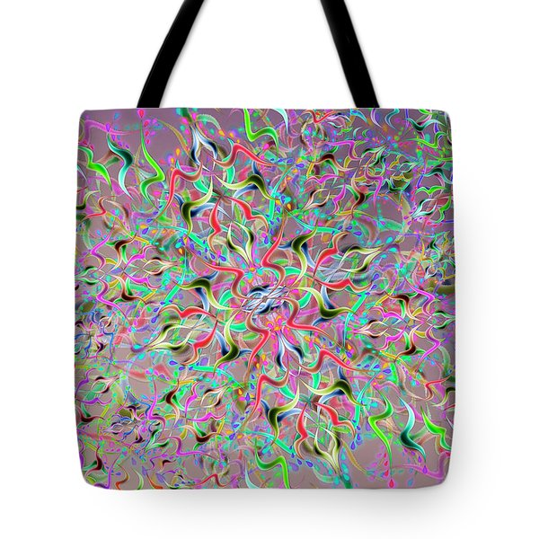 Wave Complex One Tote Bag